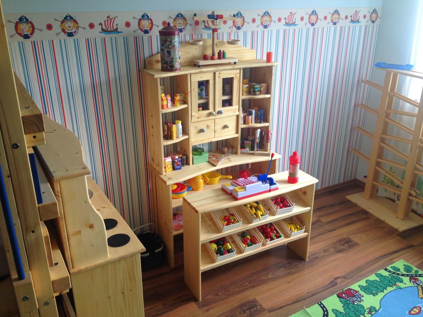 hobbywerker: kinderküche und kaufmannsladen