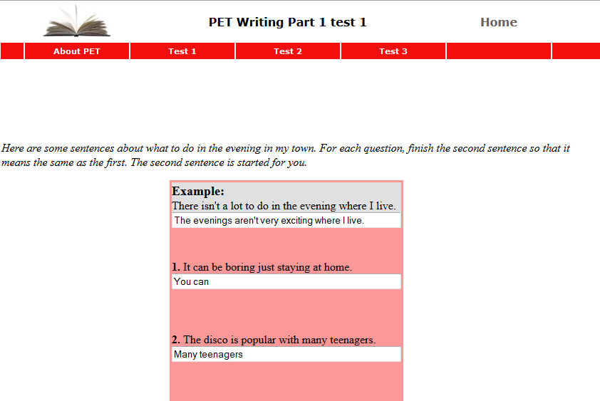 http://www.english-online.org.uk/petfolder/petwrite1.php?name=PET%20Writing%20Part%201%20test%201
