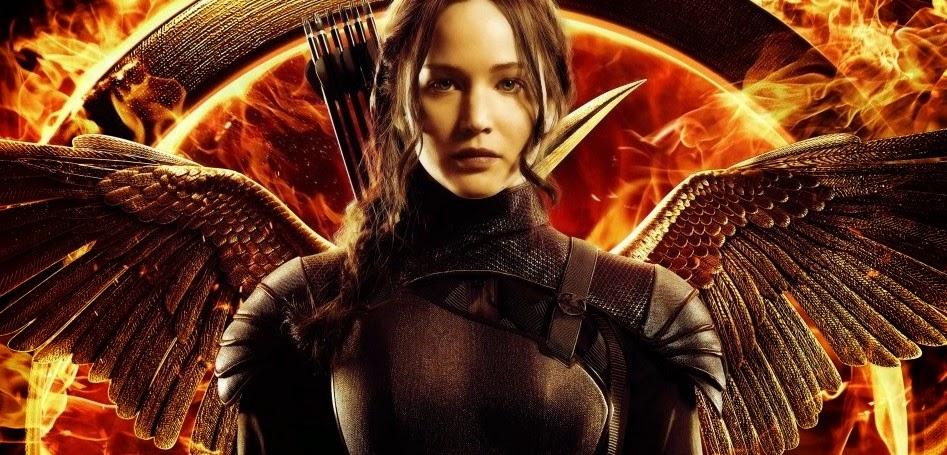 Jennifer Lawrence em chamas em novo pôster e prévia do segundo trailer de Jogos Vorazes: A Esperança - Parte 1