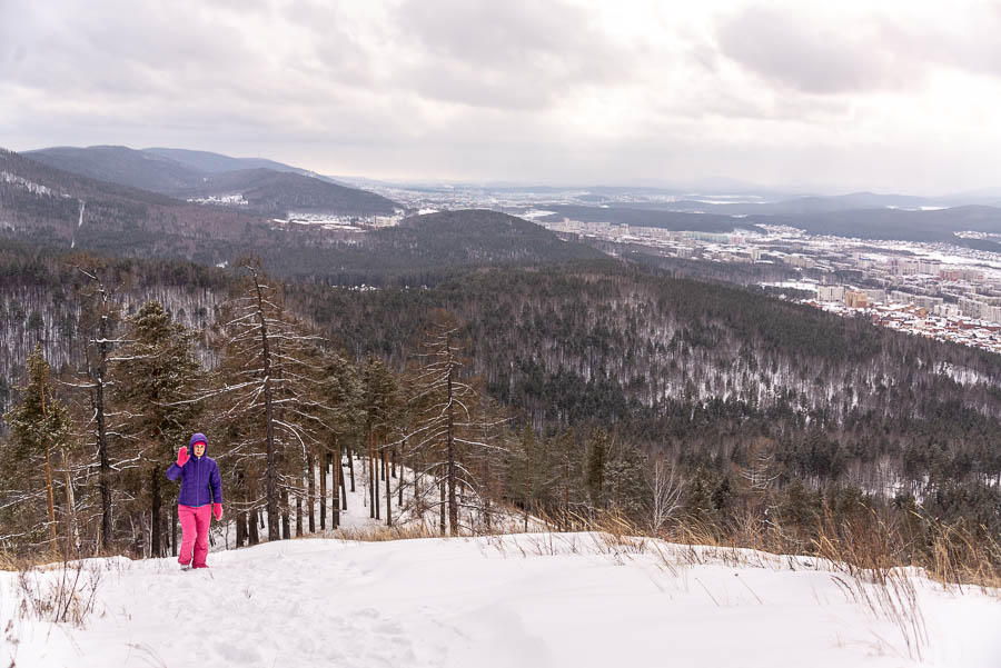 Традиционная весенняя прогулка в гору