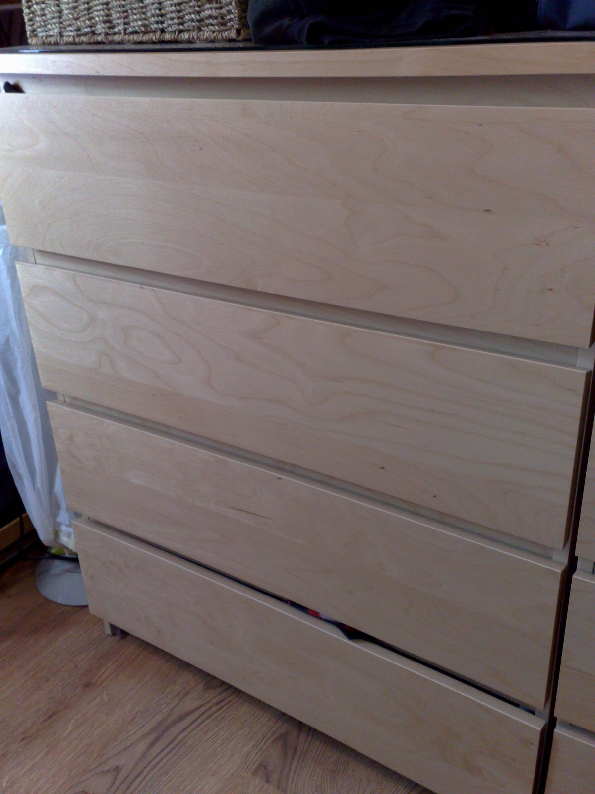 wolfies blogs ikea hack 4 malm chest of drawers. Black Bedroom Furniture Sets. Home Design Ideas