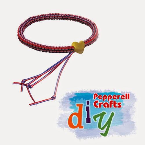 Firecracker Bracelet - Treslace Bracelet from Pepperell Braiding Company