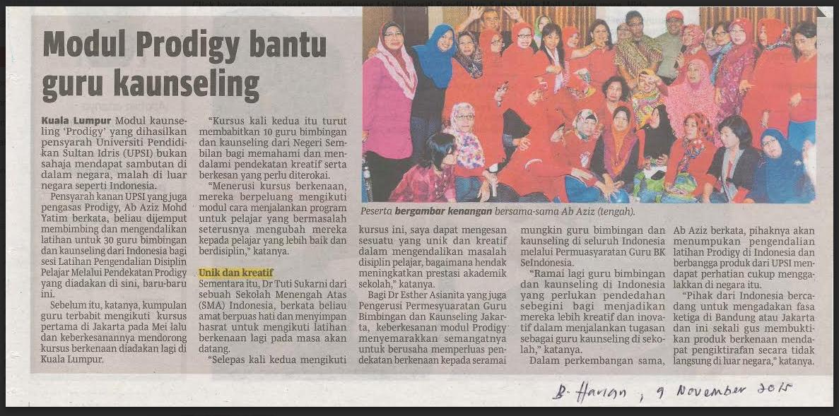 Training Guru BK Indonesia di Malaysia