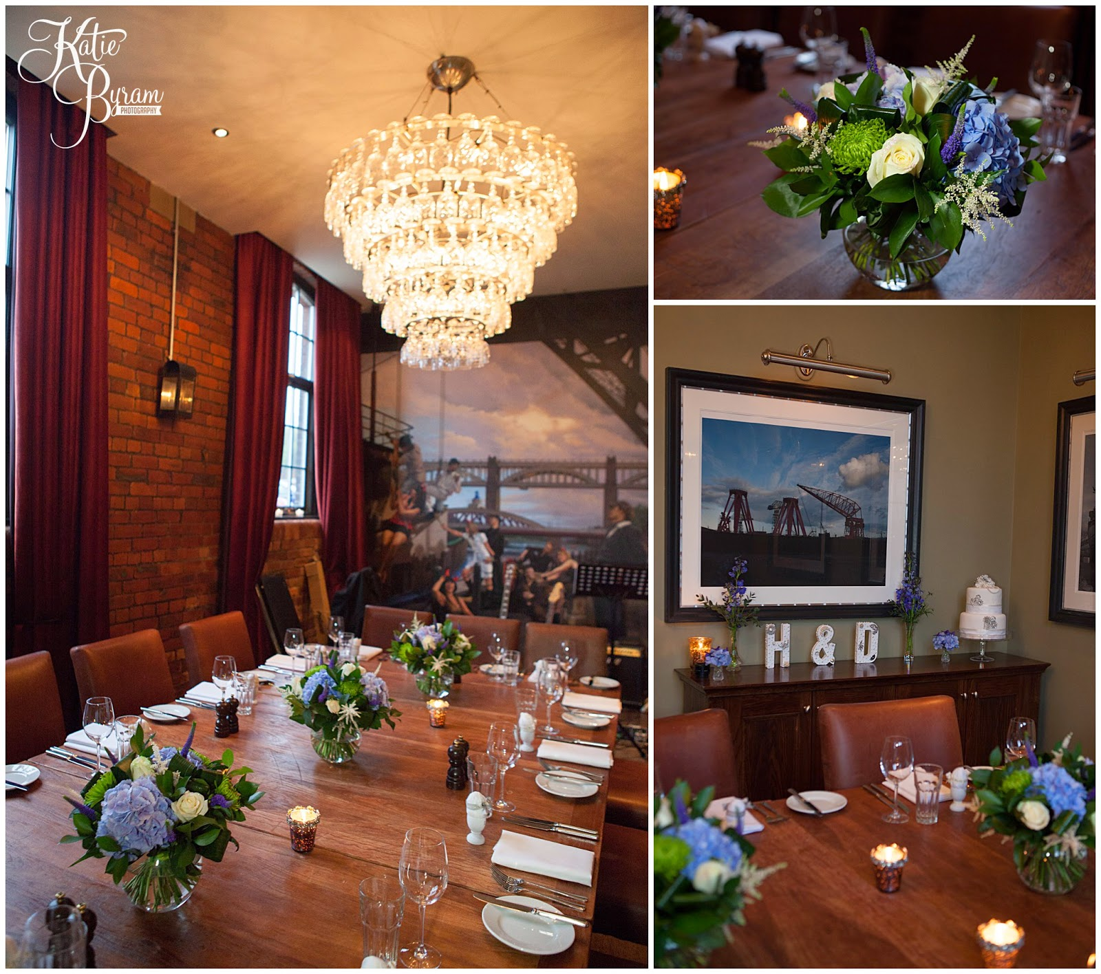 shipyard room, hotel du vin newcastle, hotel du vin wedding, hotel du vin wedding photographs, hotel du vin newcastle wedding photographs, vintage wedding, small wedding, katie byram photography, newcastle wedding venue, city wedding venue