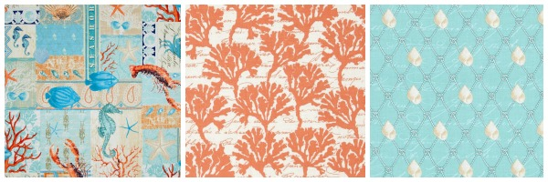 Michael Miller - By the Sea Fabric Collection