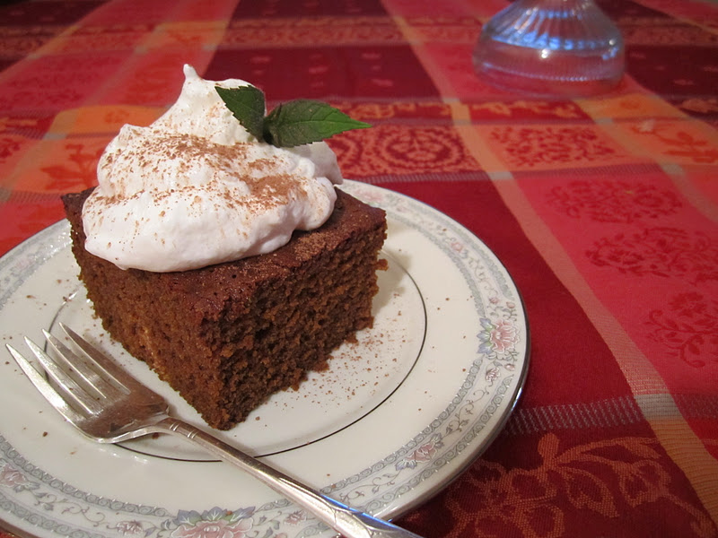 The Irish Mother: Favorite Old Fashioned Gingerbread