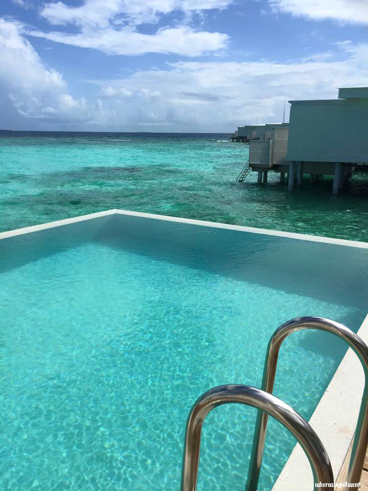 Amilla Fushi Private Infinity Pool