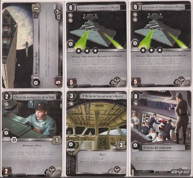 Expansión Star Wars LCG: Ciclo de Hoth - La búsqueda de Skywalker Despegar la flota
