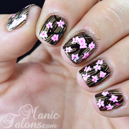 Wood Nail Art: Manic Talons Nail Design: Wood Watch By Jord With Inspired