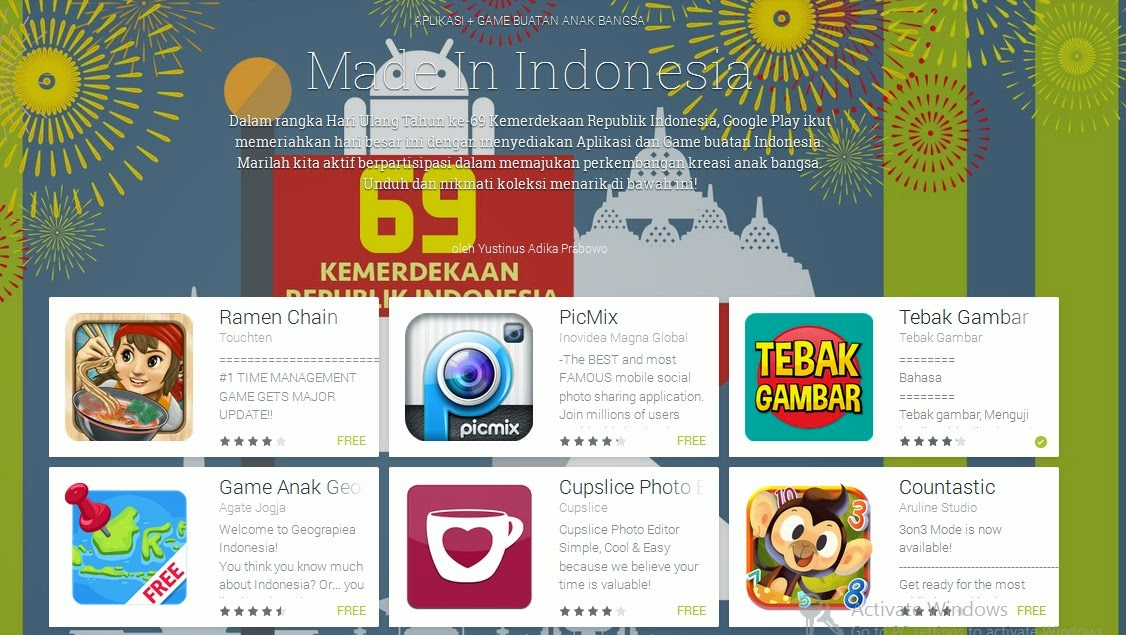 Aplikasi Made In Indonesia di Google Play