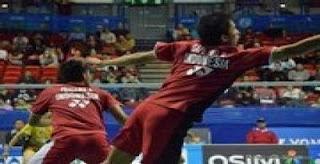 Tim bulu tangkis Indonesia merebut medali emas