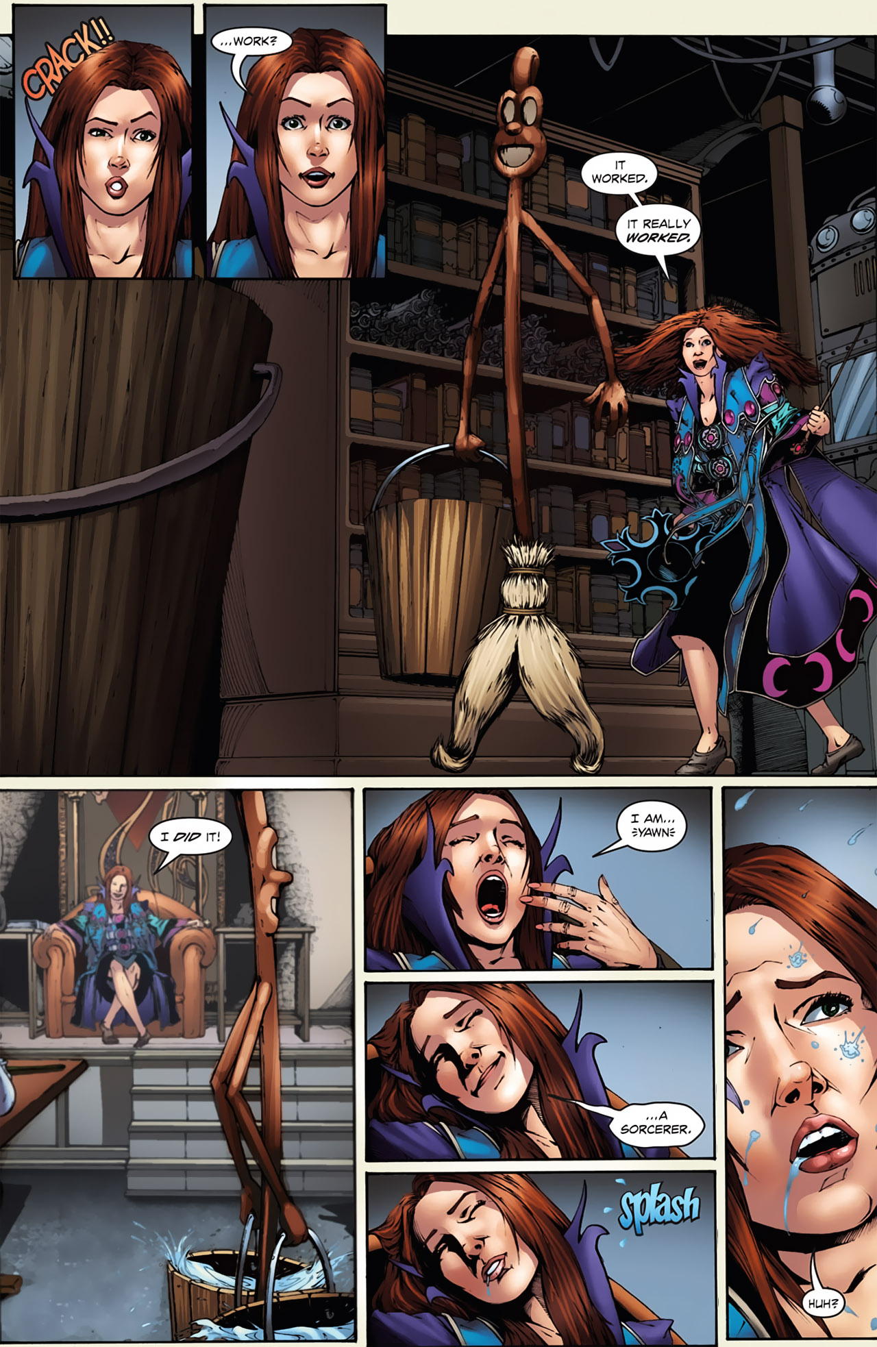 Grimm Fairy Tales (2005) Issue #21 #24 - English 10