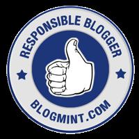 I am a Responsible Blogger!