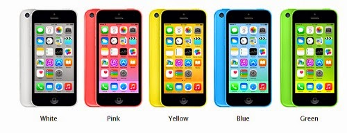 iphone 5C mobile phone
