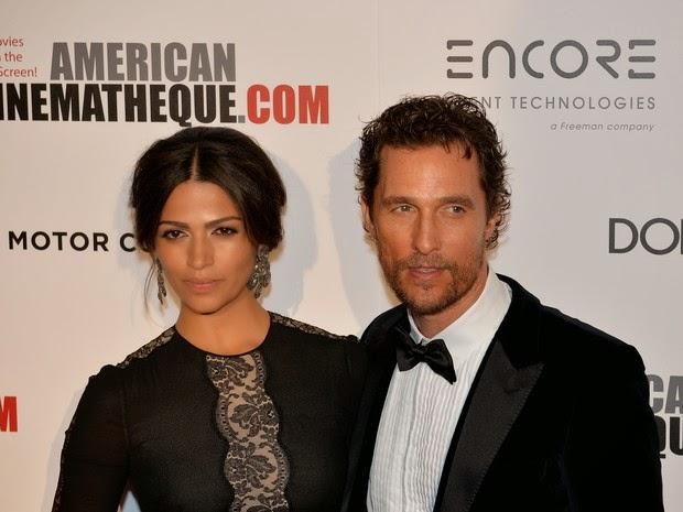 Camila Alves and Matthew McConaughey in awards