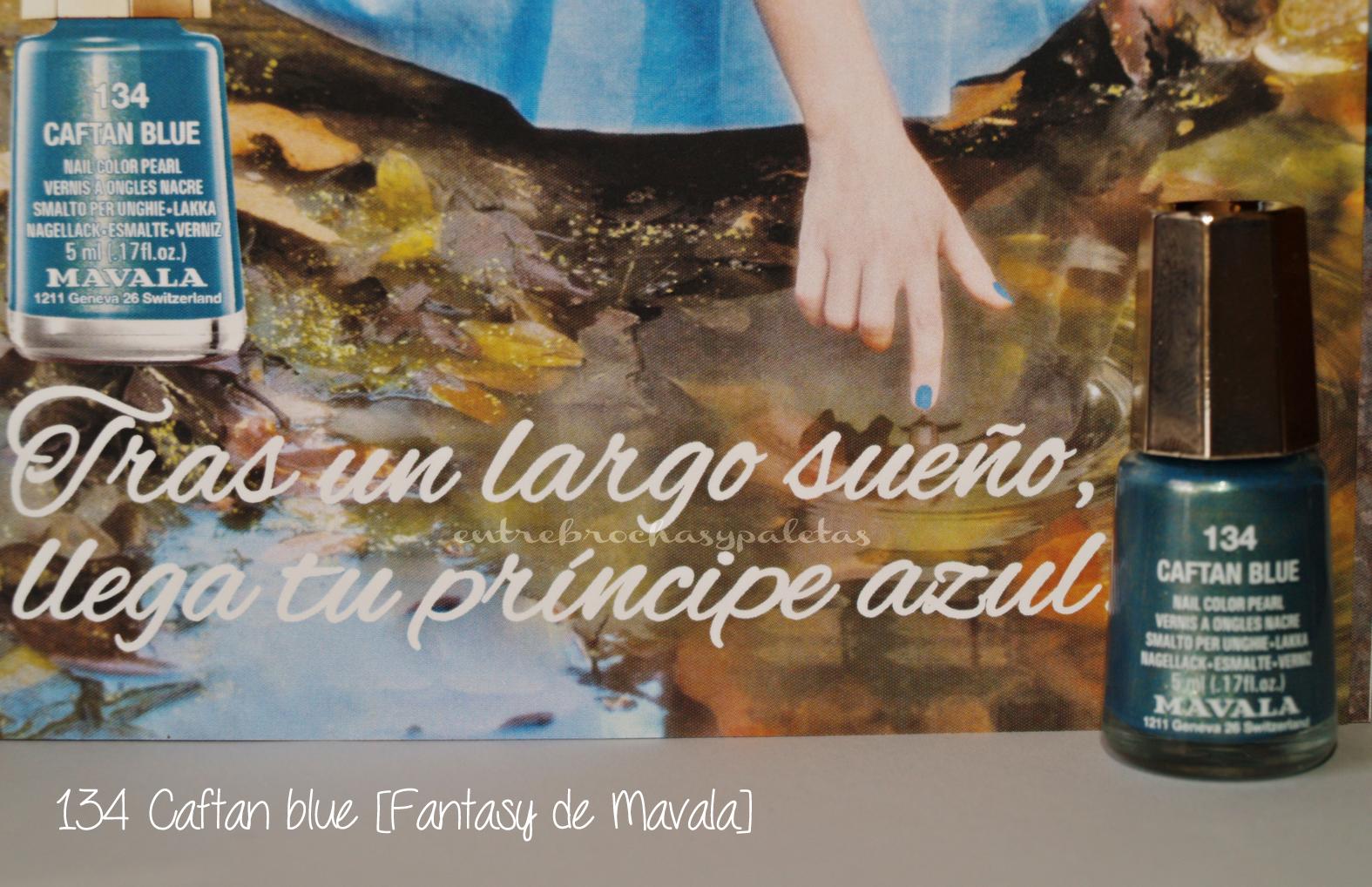 caftan blue mavala