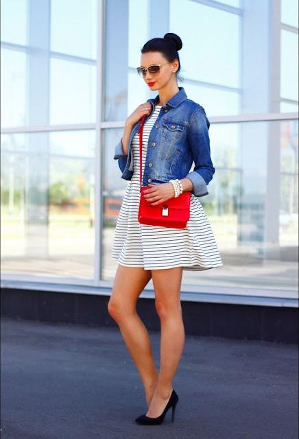 Zapatos para vestidos cortos