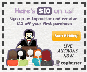 Check out Tophatter Today!