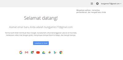 Cara Membuat Akun Email Baru di Google Mail/Gmail.com