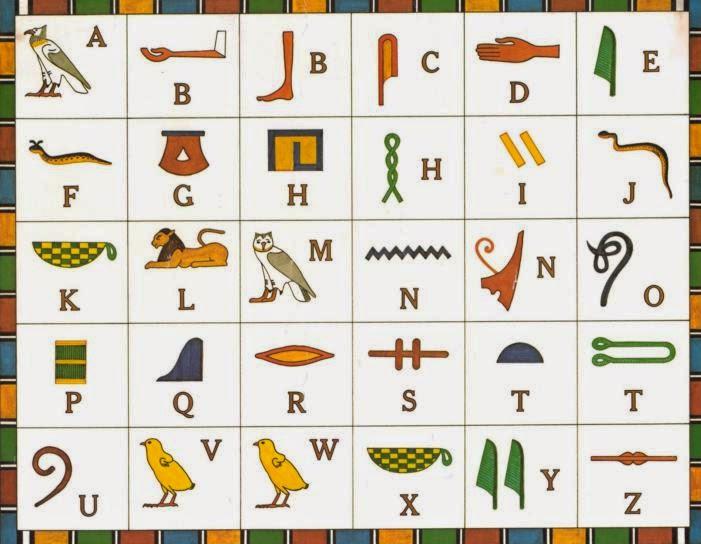 huruf-hieroglif