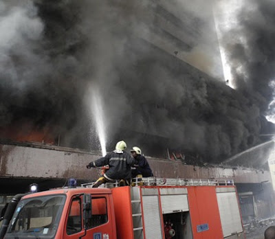 Property Worth Millions Gone As Fire Razes Galaxy TV Office