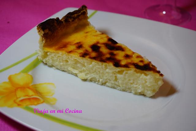 Pastel de arroz de Verviers