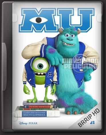 Monsters University (BRRip HD Español Latino) (2013)