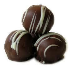 Receta Bombones de Chocolate y Almendras