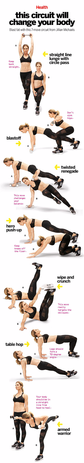 This 7-Move Circuit Will Change Your Body