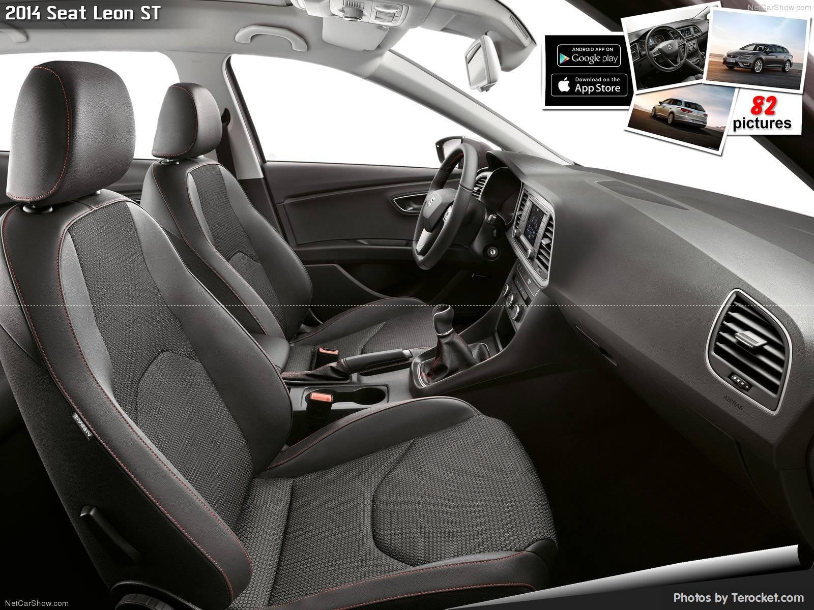 Hình ảnh xe ô tô Seat Leon ST 2014 & nội ngoại thất