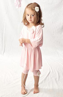 Baby clothing, Shanghai dress, baby pink from Blubelle