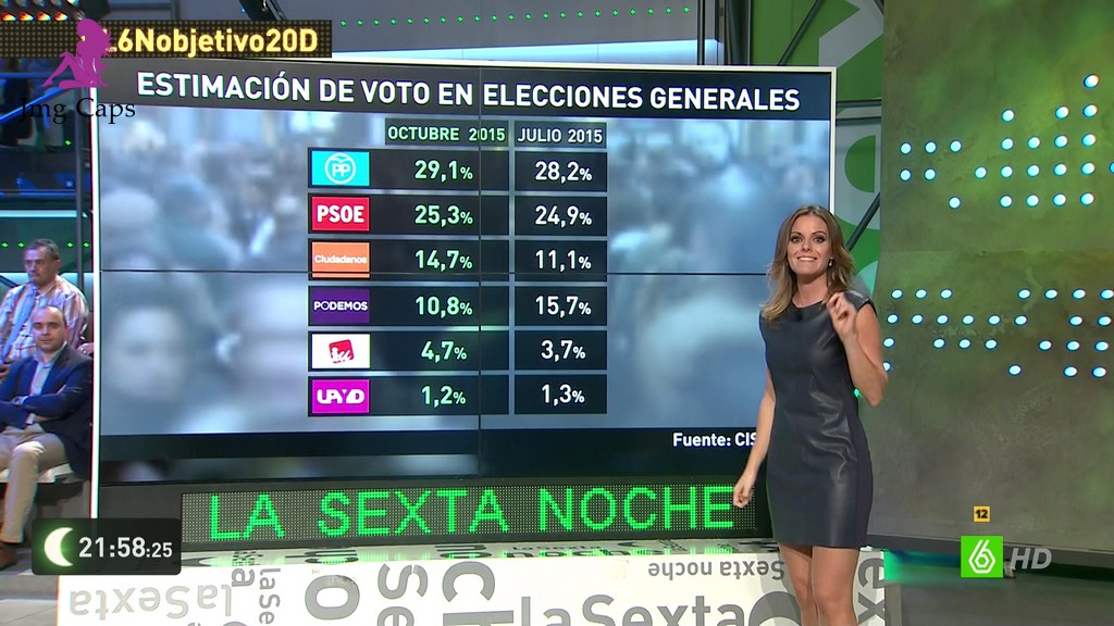 ANDREA ROPERO, LA SEXTA NOCHE (07.11.15)