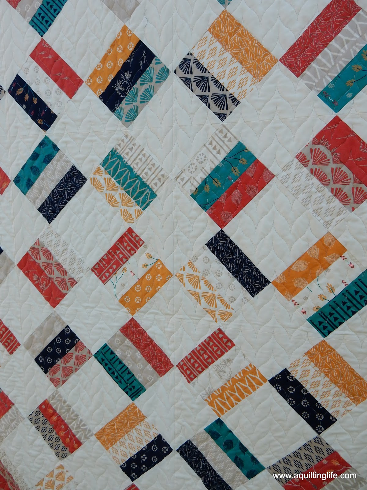 Scrap Quilts From Strips A Quilting Life
