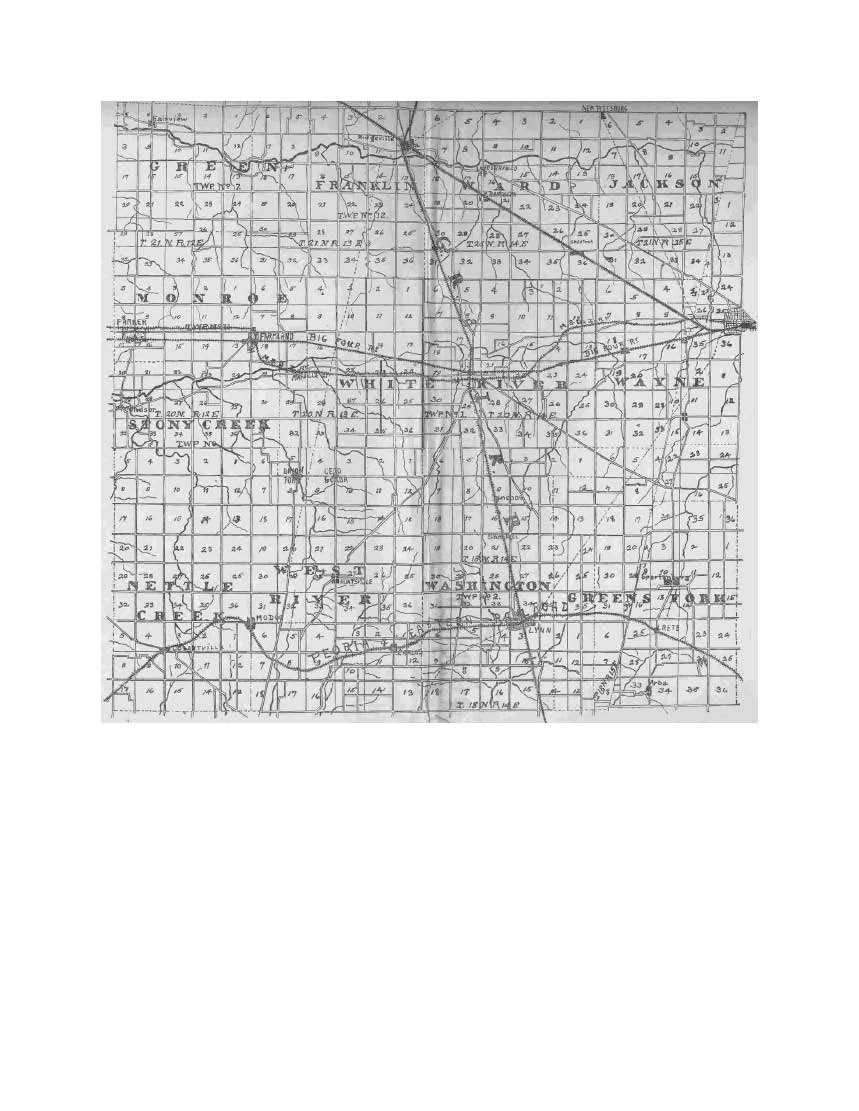 this map is from the 1908 randolph county indiana directory i will post the directory here