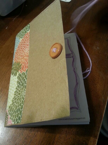 Our Precious Sprouts Homeschool Journal DIY Mini