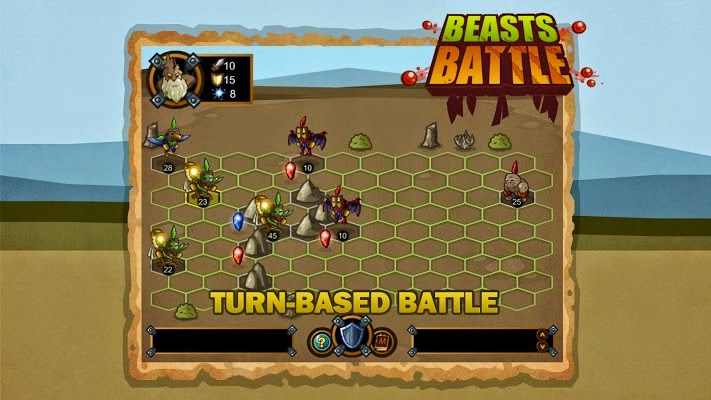 Beasts Battle Gameplay IOS / Android