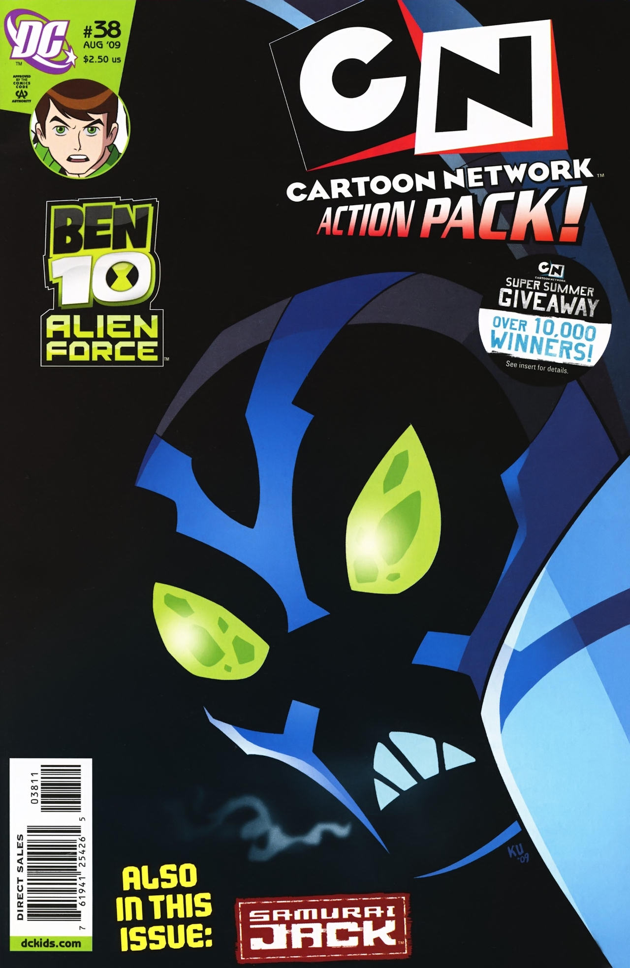 Cartoon Network Action Pack 38 Page 1