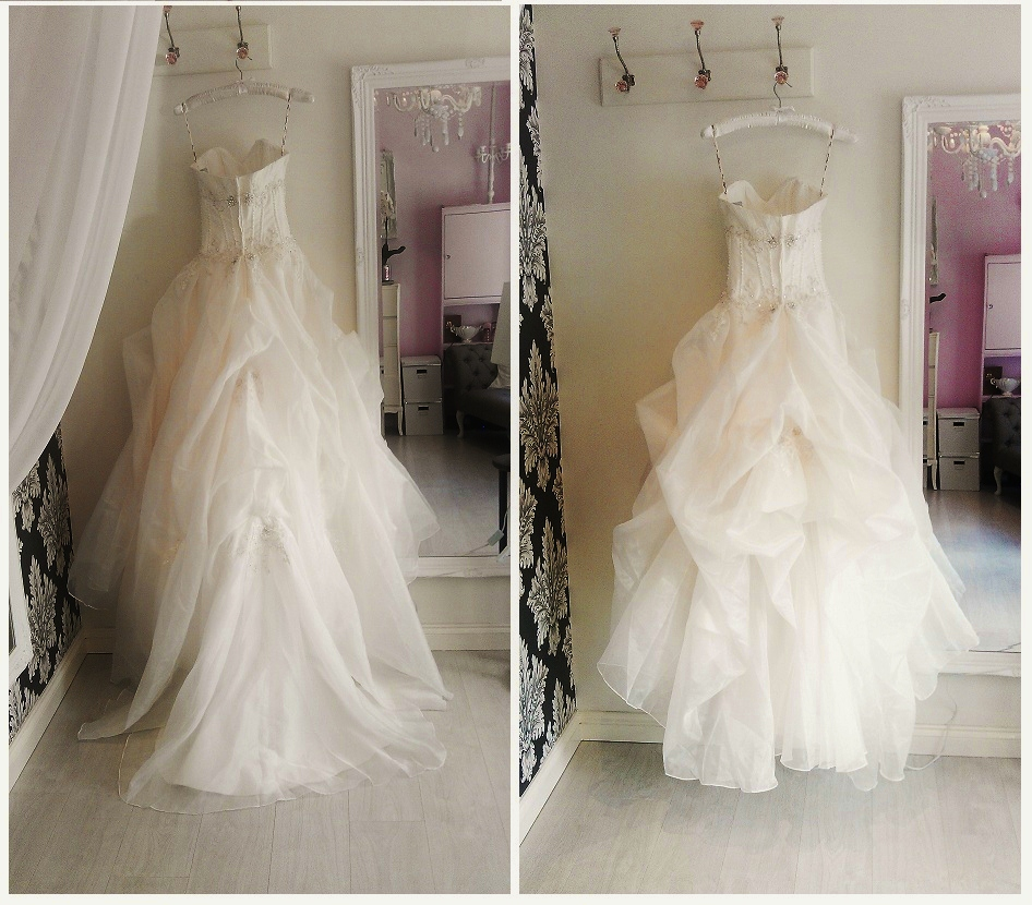 Wedding Dress Bustle Types - Gown And Dress Gallery