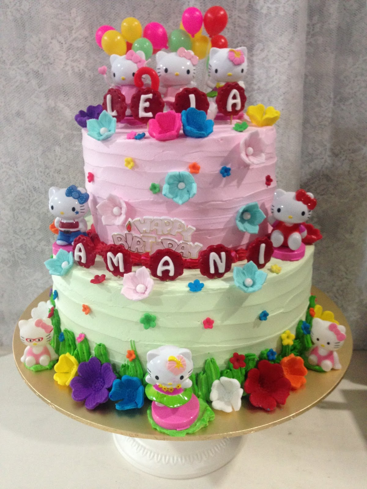 Cake Designs Of Hello Kitty : ninie cakes house: Hello Kitty Cake Design
