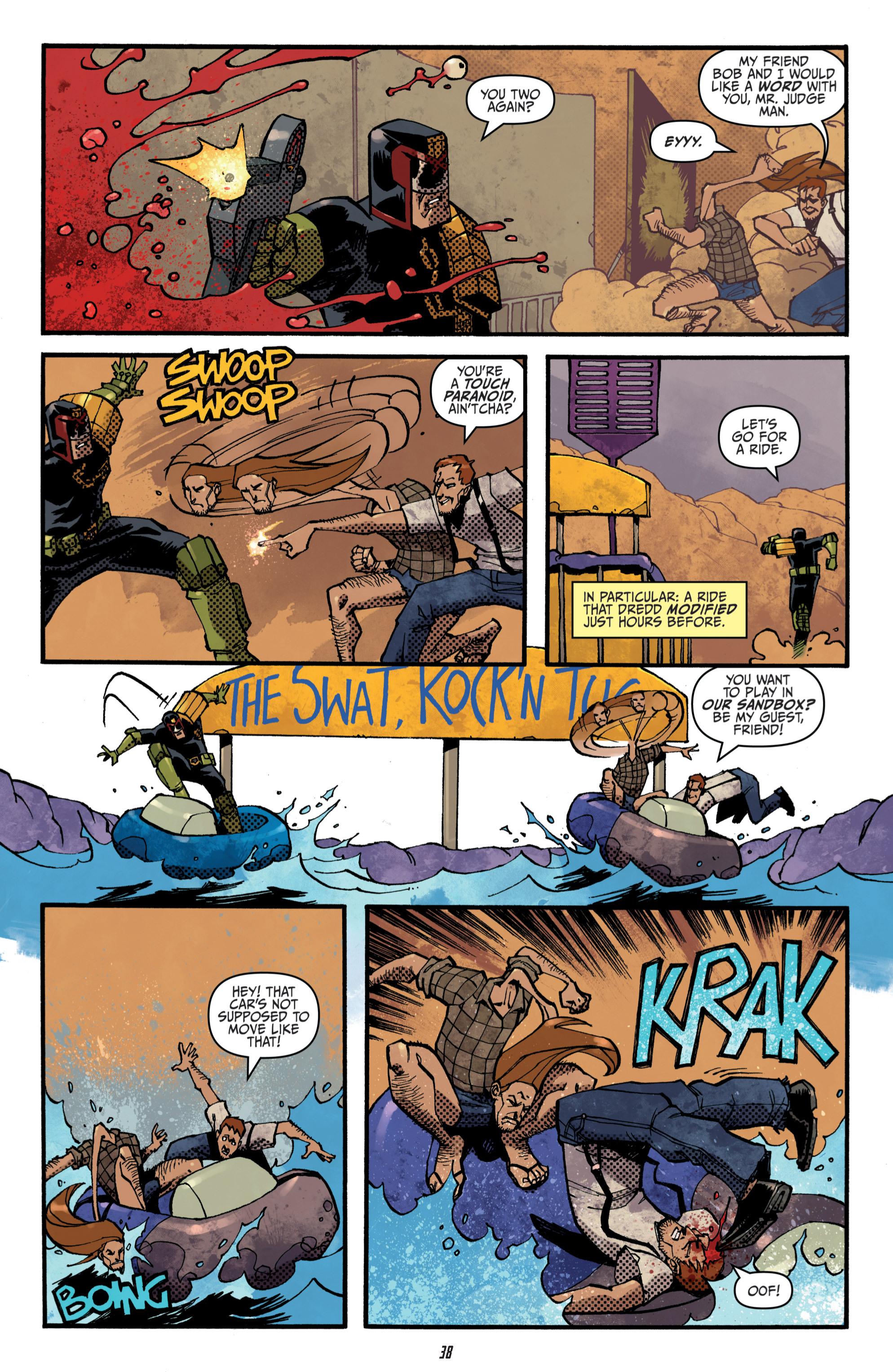 Read online Judge Dredd (2012) comic -  Issue # _TPB 3 - 38