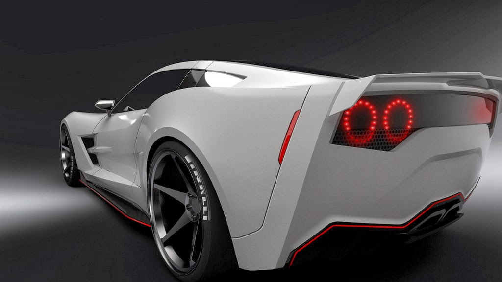 supervettes transformiert die corvette c6 zur c7 stingray. Black Bedroom Furniture Sets. Home Design Ideas