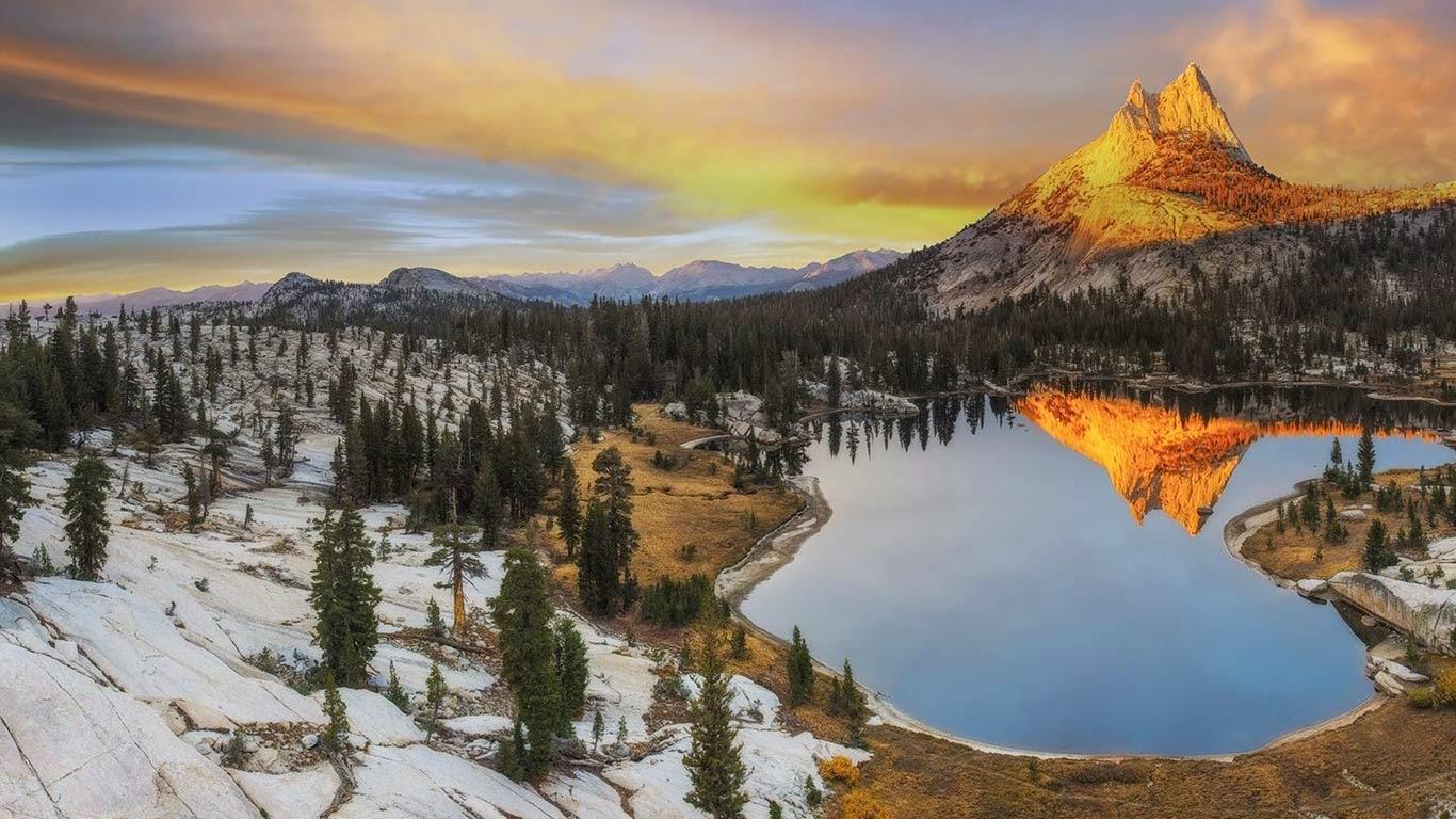 Cathedral Peak, Yosemite National Park, California (© Mark Brodkin/Rex Features) 48