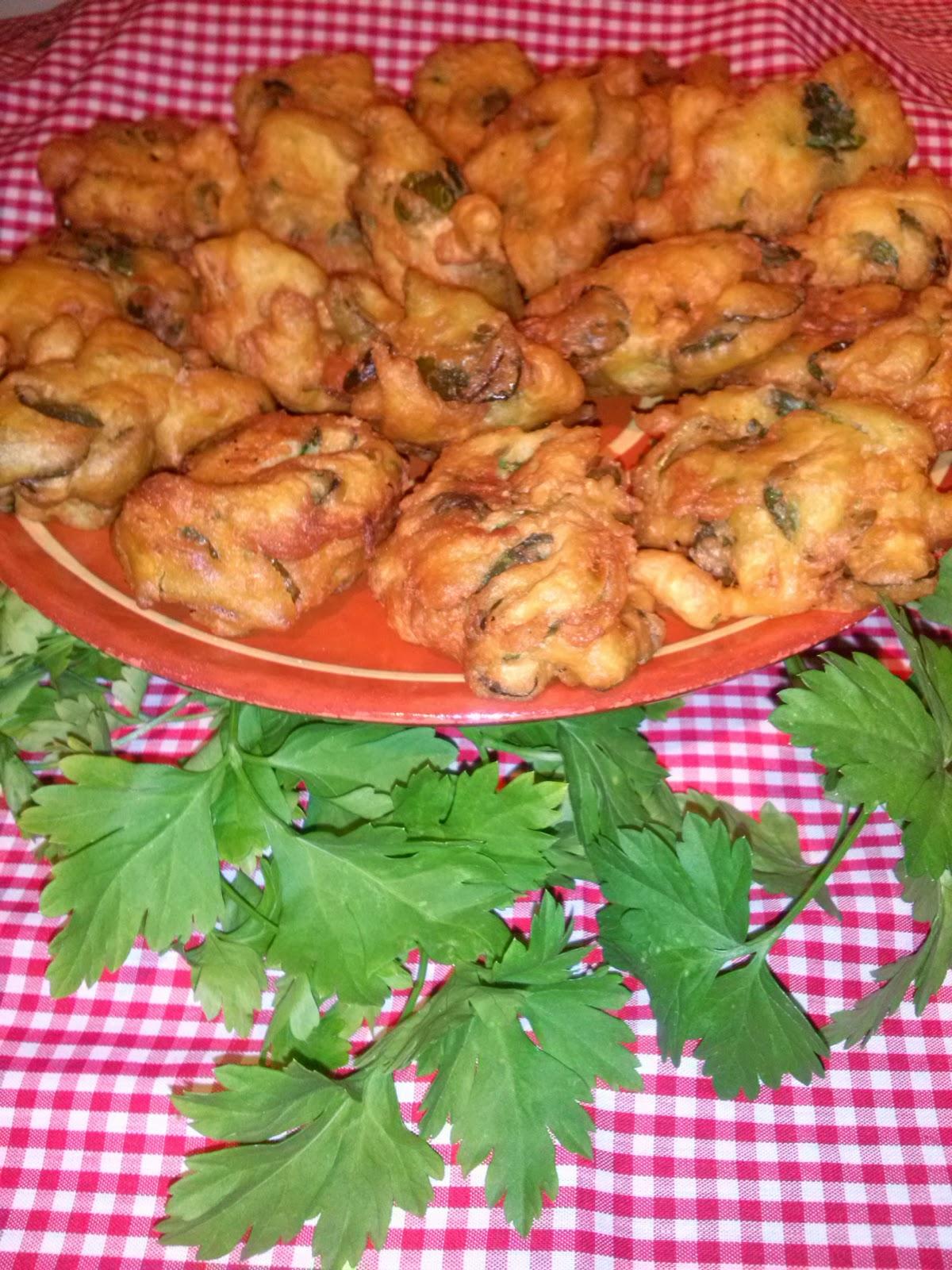 Tortillitas de Hierbas