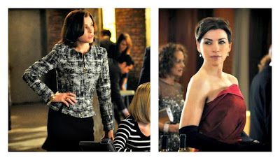 Los trajes de la protagonista de The Good Wife son exquisitos y elegantes
