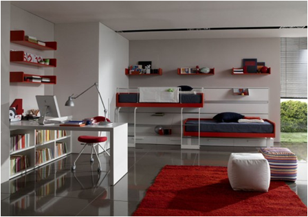 Modern Bunk Rooms for Teenage Boys | Design Inspiration of ...