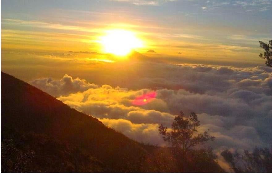 Tempat Wisata Gratis dan Murah Populer di Jogja - Puncak suroloyo