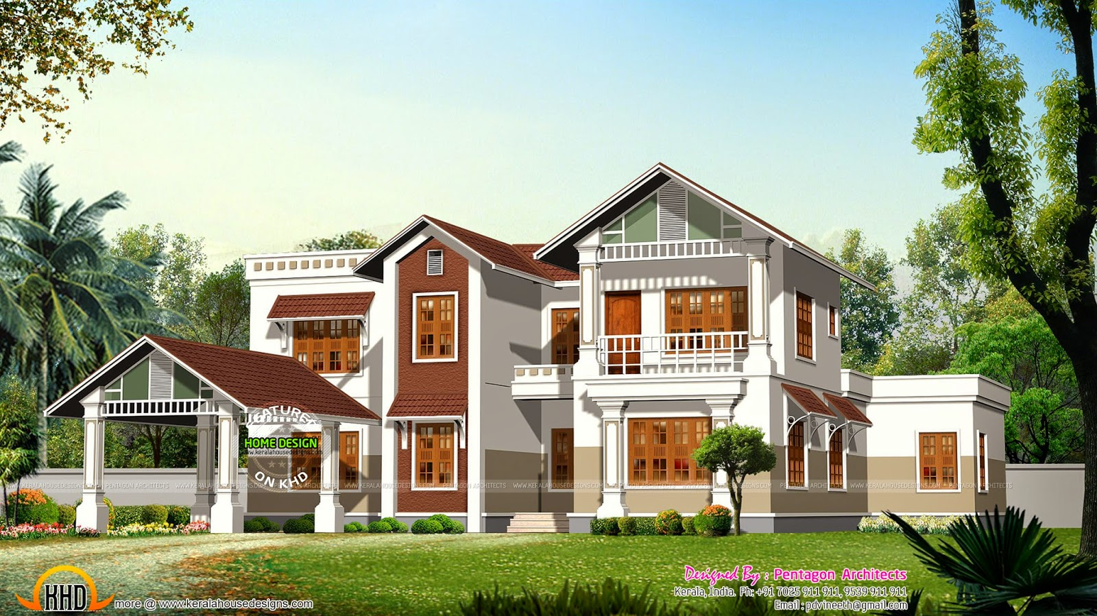 Kerala house plans set part 2 kerala home design and for House plan set