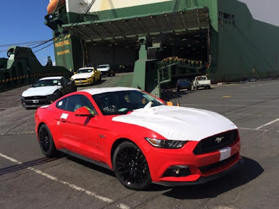 The Ford Mustang is Welcomed Into Australia