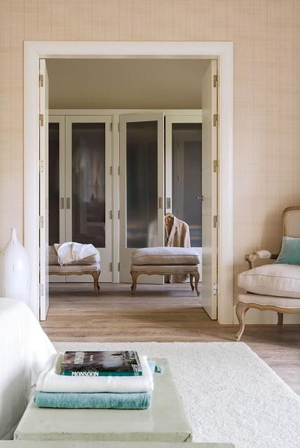 armario vestidor con puertas cristal