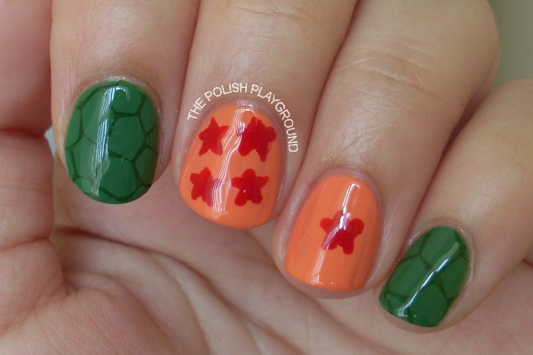 Dragon Ball Z Nails